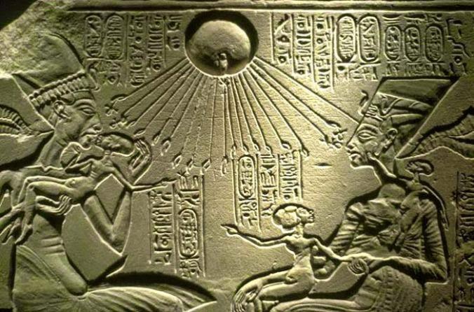 aton-dios-egipcio-sol